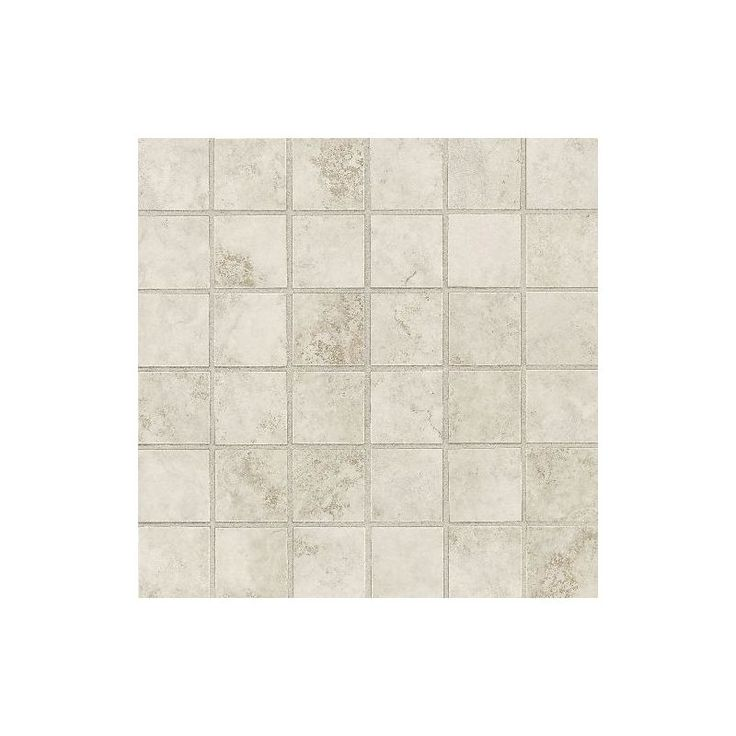 "Daltile SL84-22PMS1P2 Salerno Grigio Perla 2"" x 2"" Dot-Mounted Ceramic Multi-Sur Grigio Perla Tile Multi-Surface Tile"