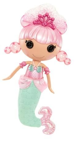 Bubbly Mermaid - Pearly Seafoam Full Size Doll (#62) Sewn on May 6th Sewn from A Pearl Pet Octopus