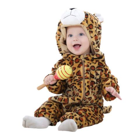 Leopard Jumpsuit Baby Rompers **FREE+SHIPPING**