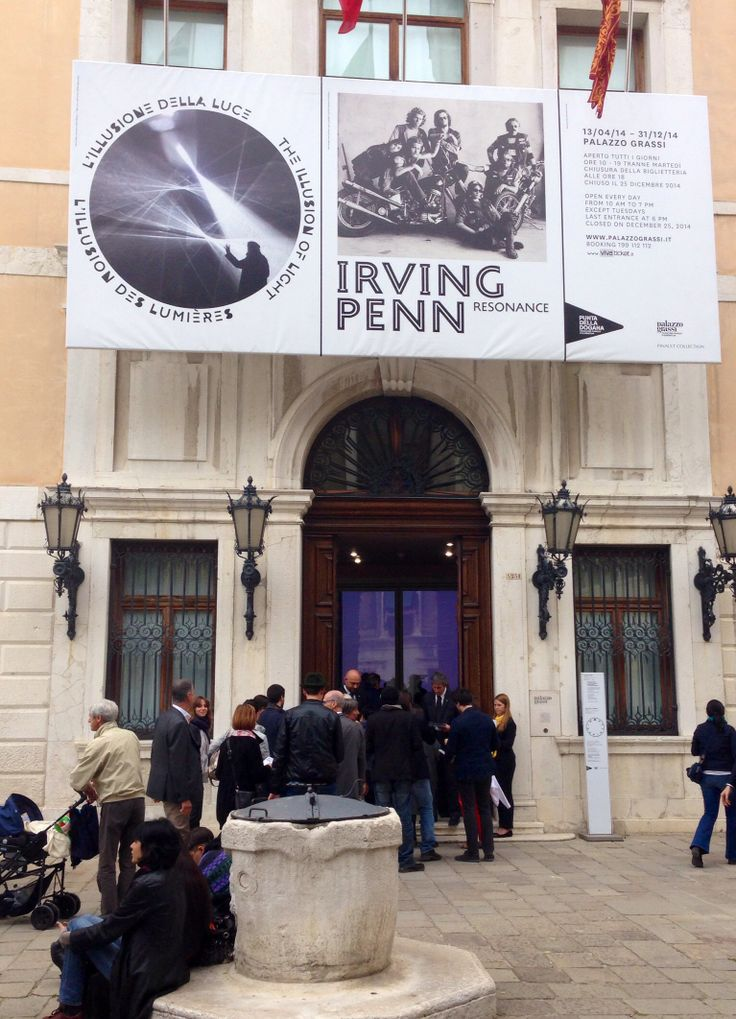 Opening --> The Illusion of light   Palazzo Grassi   Pinaut Collection   Venice - Italy  
