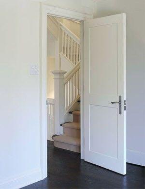 Door Express Seattle | Product Details - Interior 2 Panel Paint Grade - Engineered Wood Shaker