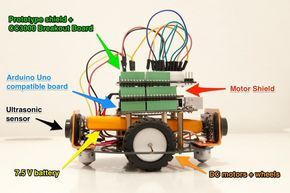 WiFi Controlled Mobile Robot Tutorial: Control your robot via WiFi using Arduino & the CC3000 WiFi chip