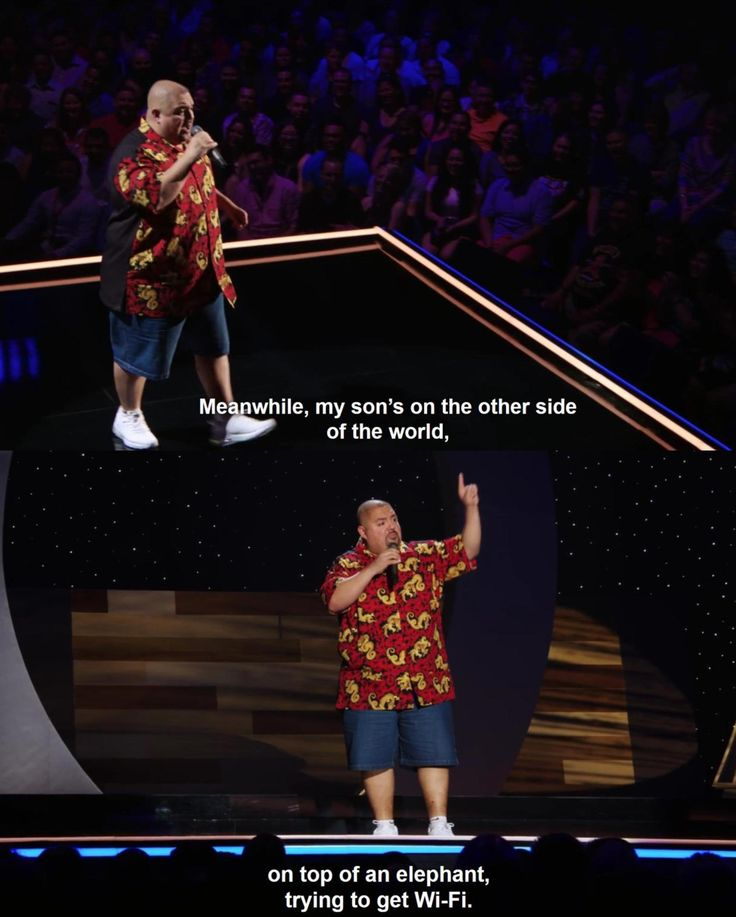 I love it when Gabriel Iglesias talks about...well, everything. XD
