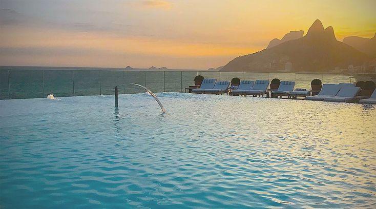 Hotel a Rio de Janeiro: uno dei migliori hotel di Rio de Janeiro è sicuramente i Fasano con la sua terrazza incredibile. #hotel #riodejaneiro
