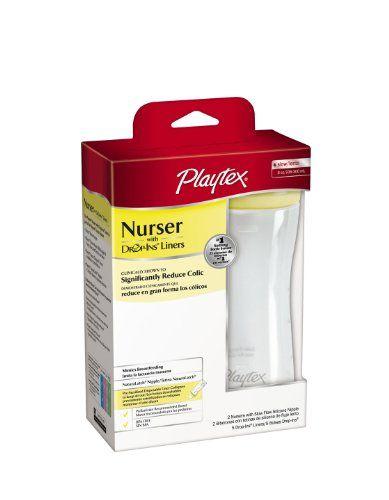 Playtex 3 Pack Baby Drop Ins Nurser Holder 4 Ounce