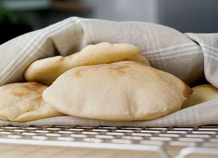 Naanbrød passer til all slags mat Foto: frutimian.no
