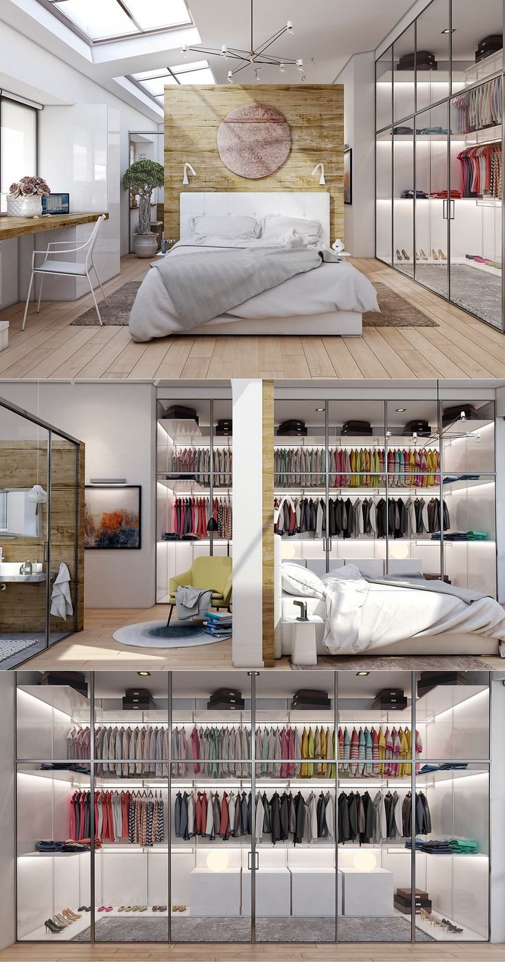 20 Beautiful Examples Of Bedrooms With Attached Wardrobes , http://www.interiordesign-world.com/20-beautiful-examples-of-bedrooms-with-attached-wardrobes-3/