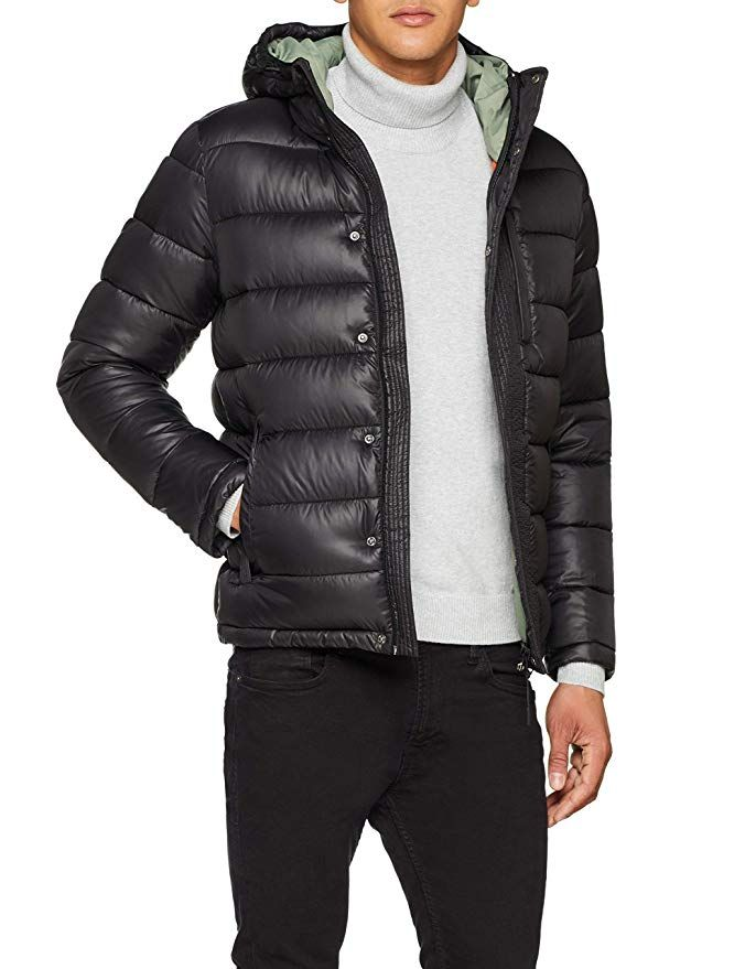 e62bd74e9b61 Pepe Jeans Men s WALBROOKS PM401928 Jacket, Black, X-Small   Amazon ...