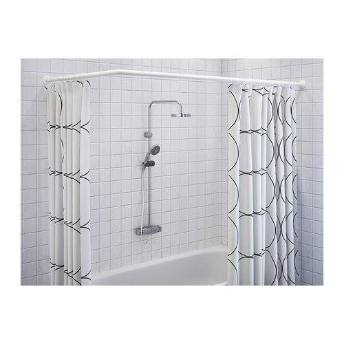 Ikea Dusche Aufbewahrung : ?ber 1.000 Ideen zu ?Duschvorhangstange auf Pinterest