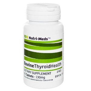 Bovine thyroid supplements