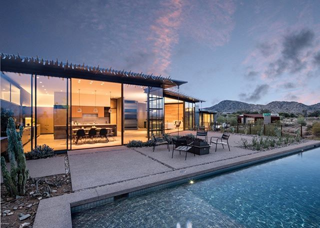 This week I was fortunate to walk this custom built beauty in Paradise Valley... This ultra modern home was built by The Construction Zone Ltd. & Jones Studios. It's perfectly situated on a hillside lot capturing some of the best views in AZ. Priced at $3.4M. It's a home sure to impress. Call me if you are looking for a custom build in Scottsdale or Paradise Valley, I'm well connected to many of the luxury home builders in town. 480.447.7065. Listing courtesy of BeSpoke Realty. - posted by…