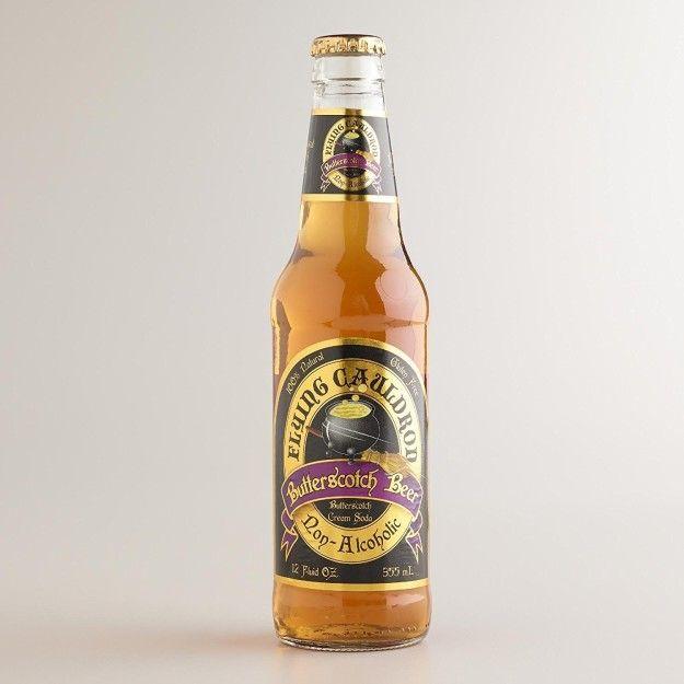 Ou essayez cette bière au caramel sans alcool du Chaudron volant.