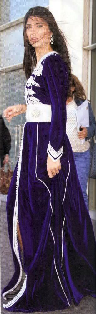 Turkish Actress: Tuba Büyüküstün in Caftan.