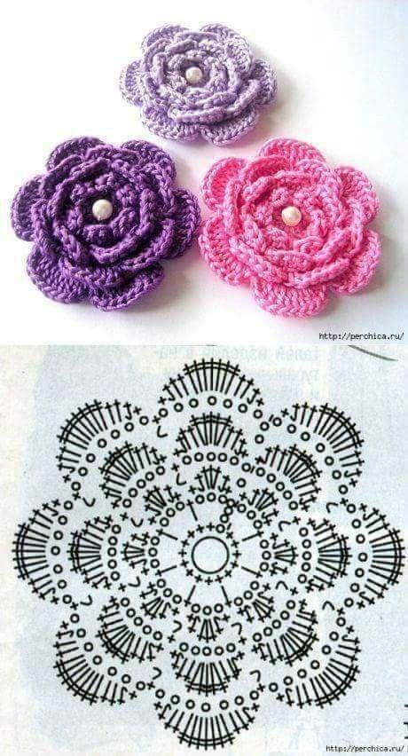 12+ Indescribable Crochet a Puff Flower Ideas
