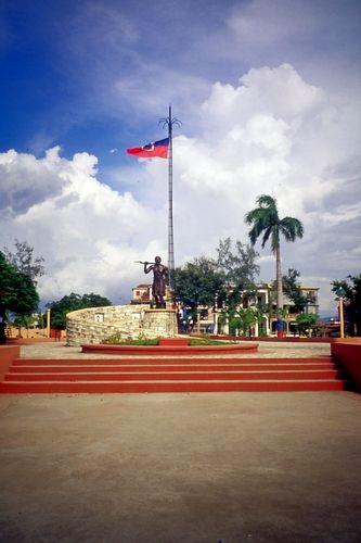 A public square in Jeremie, Haiti.