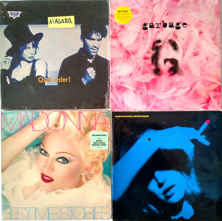 |i| Niagara ‎– Quel Enfer! ‎– 435₴ Garbage ‎– Garbage (20th Anniversary Edition) ‎– 975₴ Madonna ‎– Bedtime Stories ‎– 795₴ Marianne Faithfull ‎– Broken English ‎– 385₴  #newindiskultura #diskultura #greatestHitsVinylShop #kyiv #kiev #киев #київ #kyivshop #vinyl #винил #пластинки #Niagara #Chanson #Garbage #AlternativeRock #Madonna ‎#PopCulture #MarianneFaithfull ‎#Delicious