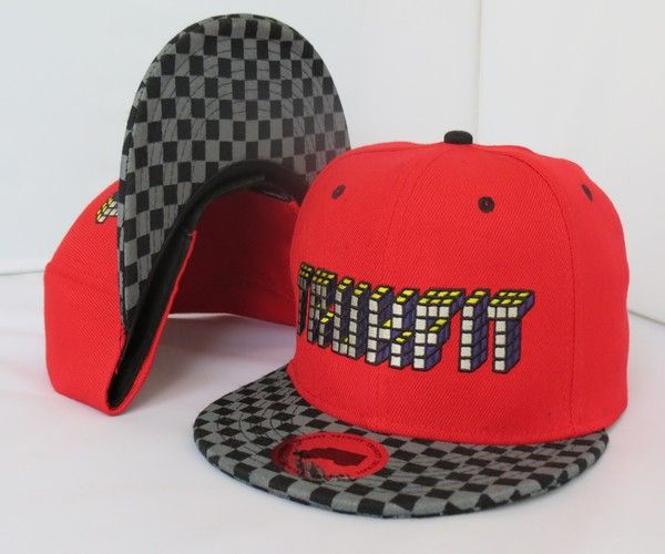 Trukfit Snapback Hats Red - pop snapback