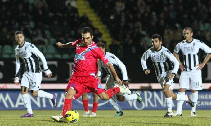 Siena - Catania 0-1 #21agiornata