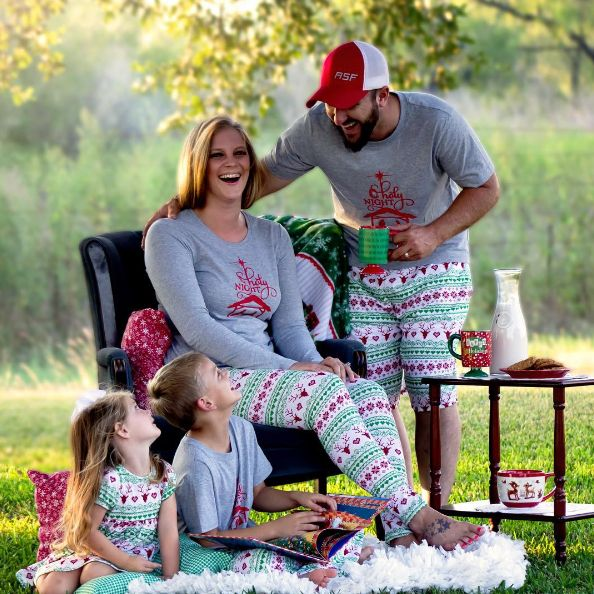 Nothing is more fun during the holiday season than matching pajamas for the entire family! Check out this reindeer pajama set from Baby B and Mommy and shop our entire Jolly Holiday Collection and more BOLT fabrics at your nearest retailer today!