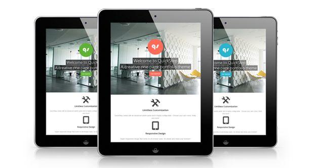 SB - WordPress - QuickStep - Responsive One Page Portfolio Theme | ThemeForest