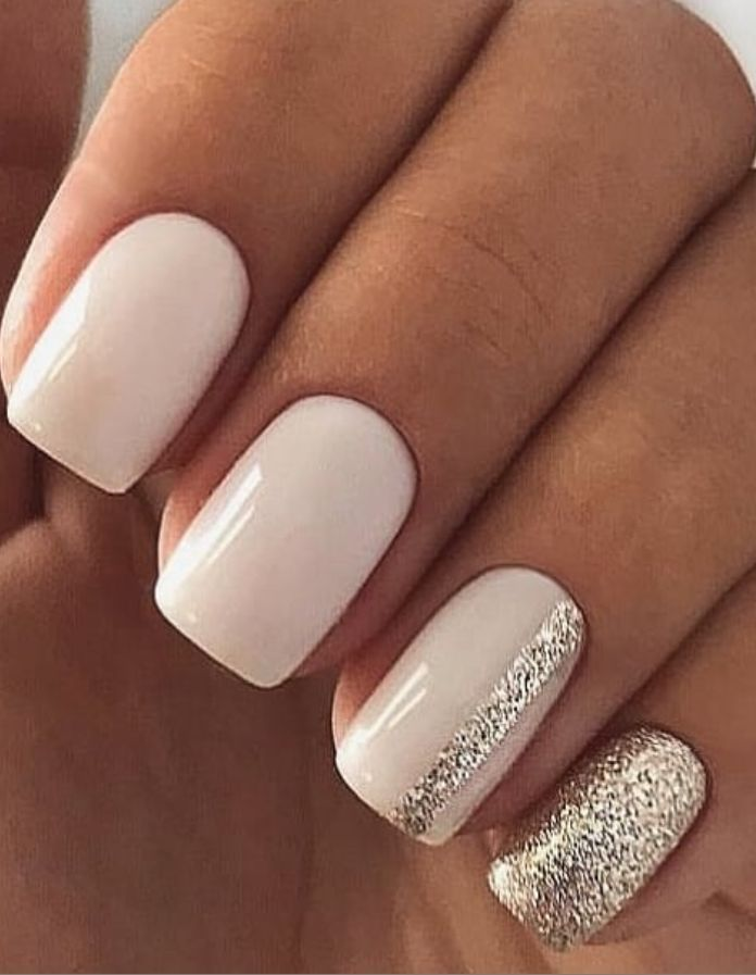 66 Natural Summer Nails Design für kurze quadrati…