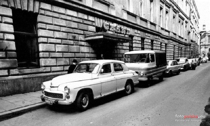 """Hotel """"Grand"""", Kraków - 1972 rok, stare zdjęcia"""