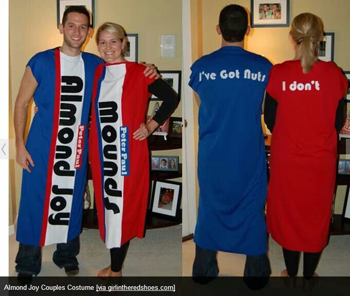 Cute couples costume