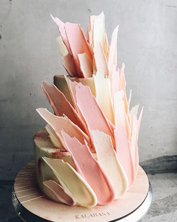 unusual wedding cakes, wedding cake trends, wedding cakes 2018