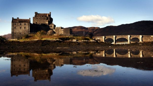 Eilean Donan Castle in Loch Duich in the western Highlands of Scotland/ Photo:Danny Lawson/PA Wire