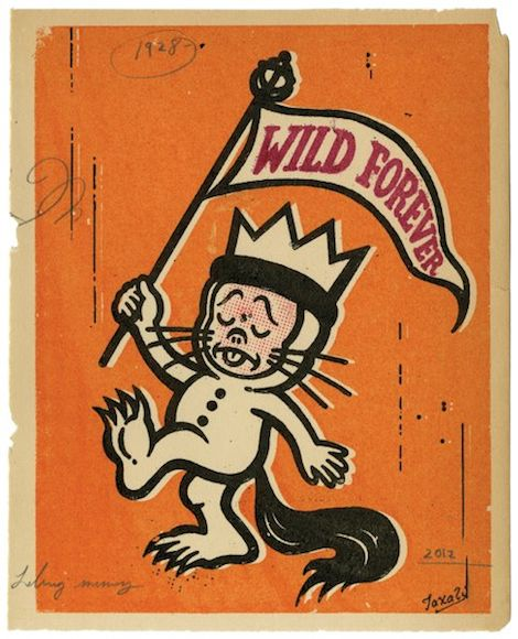 Gary TaxaliWild Things, Illustration, Maurice Sendak, Childhood Book, Gary Taxali, Wild At Heart, Kids Book, Wild Forever, Pictures Book