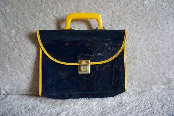 vintage 60s 70s children school bag 1960 by dieyoungstaypretty