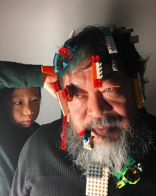 Ai Weiwei - no longer refused Lego bricks for his projects