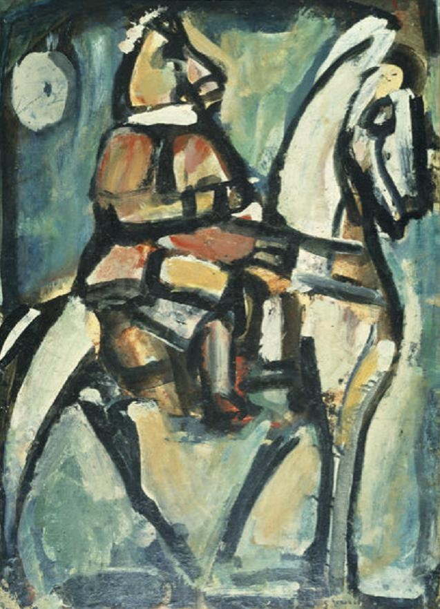 The Horseman by Georges Rouault