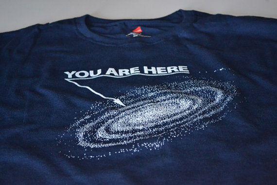 Science T shirt funny geek shirt space astronomy men women youth teenager geekery tshirt nerd navy blue screenprint gift tee husband or dad on Etsy, $14.99