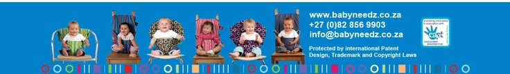 Babyneedz, Distributor of Totseat (Travel High Chair - Portable Highchair - Baby Chair Harness - Totseat) in South Africa