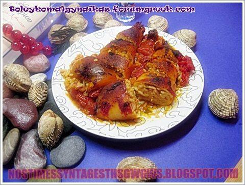 ΚΑΛΑΜΑΡΑΚΙΑ ΓΕΜΙΣΤΑ ΣΤΟ ΦΟΥΡΝΟ!!! | Νόστιμες Συνταγές της Γωγώς