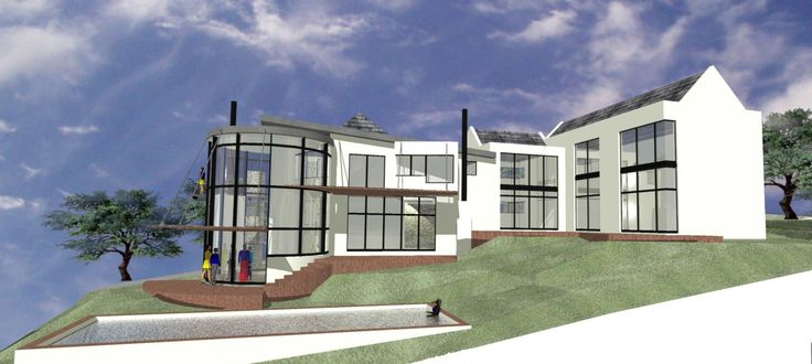 600 square meter double storey Whale Rock Ridge, Plettenberg Bay