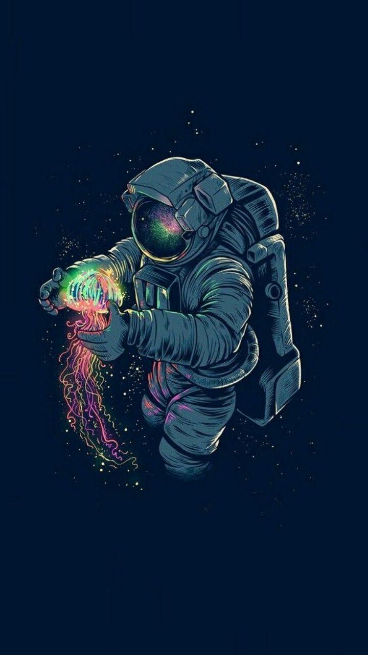 Astronaut art image by Kat Mason on Art Space art, Art