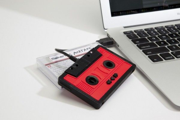 MakerBot Re-Releases their 3D Printed Mixtape