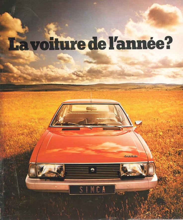 Voiture Simca - Paris Match n°1375 du 4 octobre 1975.