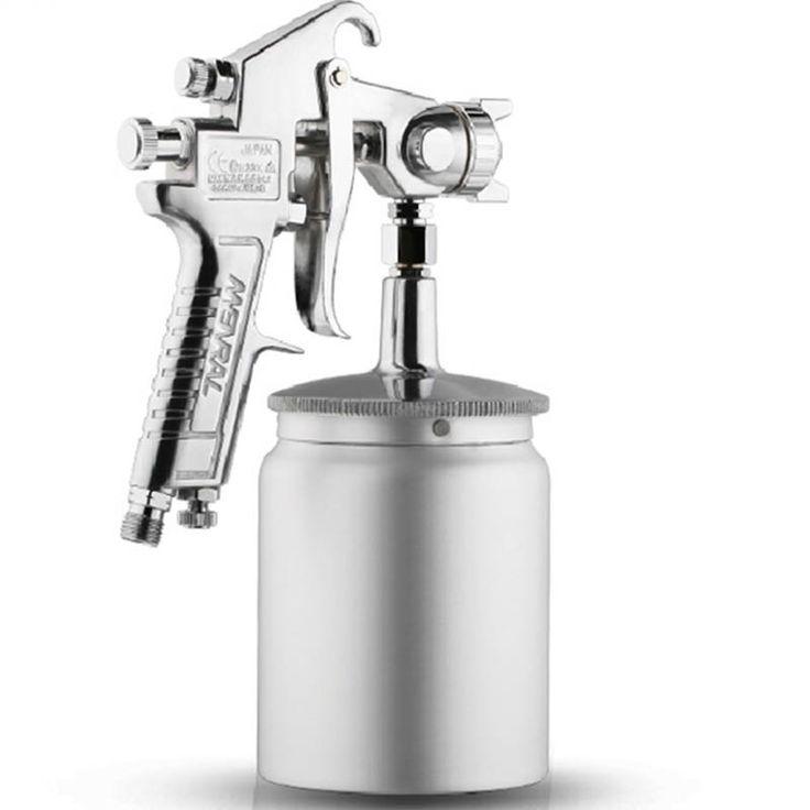 49.49$  Buy now - http://aliu2u.worldwells.pw/go.php?t=32647871042 - Paint Tool W-71 Paint Spray Gun Furniture Wood Automotive Paint Spray Gun Pneumatic High Atomized Paint Spray Gun 49.49$