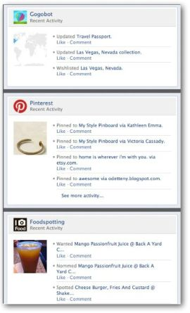 Meta-ness unleashed -- pinning an image of the Pinterest Facebook Timeline App as the first pin on my Facebook Timeline App...