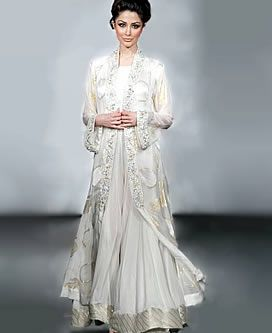 D3523 Anarkali Dresses UK, Designer Anarkali Suits, Off White Party Dress UK, Desi Dresses UK Evening Wear