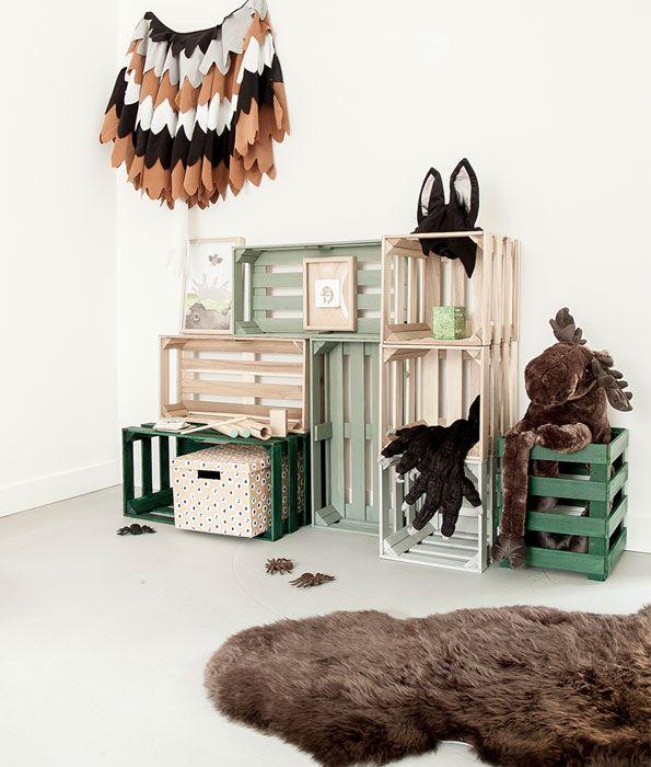 IKEA-kinderkamer-bos-speelhoek