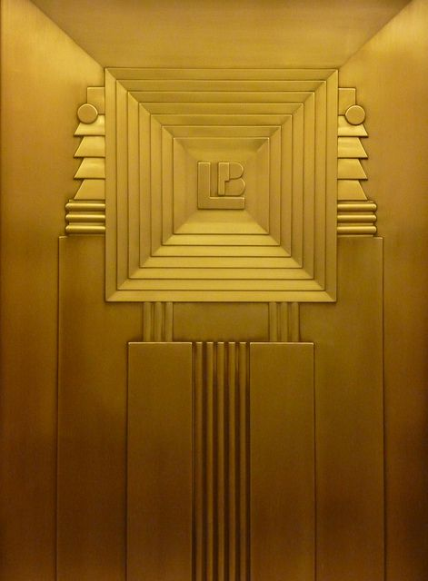 art deco elevator at the lefcourt clothing center 275 7th avenue nyc photographed art deco office tower piet