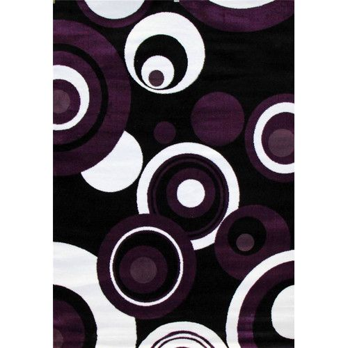 Persian-rugs Modern Purple Area Rug
