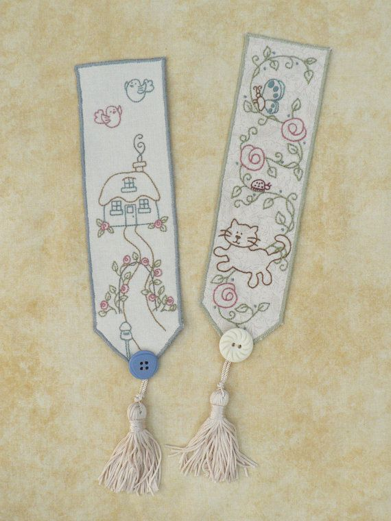 More Bookmarks for lovers of stitching