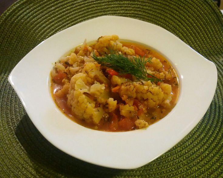 Reteta culinara Mancarica de conopida din Carte de bucate, Mancaruri cu legume si zarzavaturi. Cum sa faci Mancarica de conopida