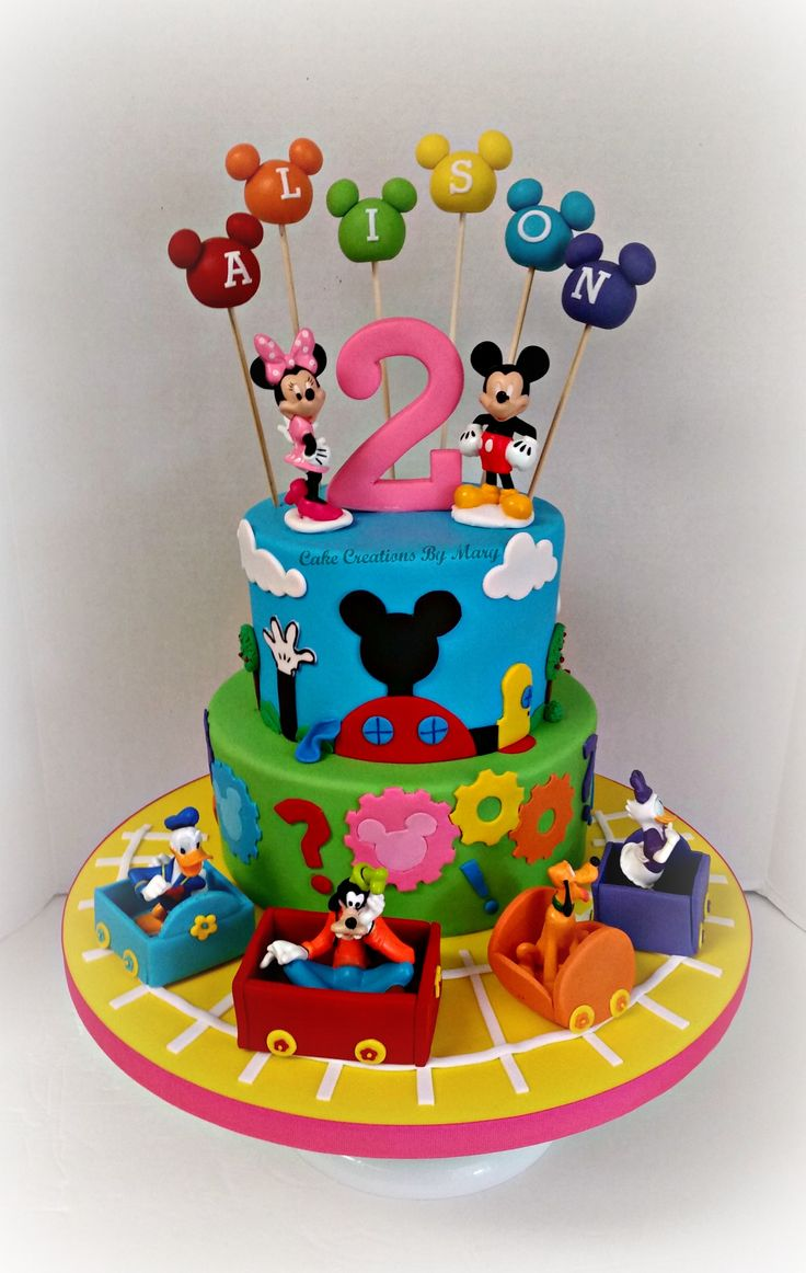 Best 25 Mickey mouse birthday cake ideas on Pinterest Mickey