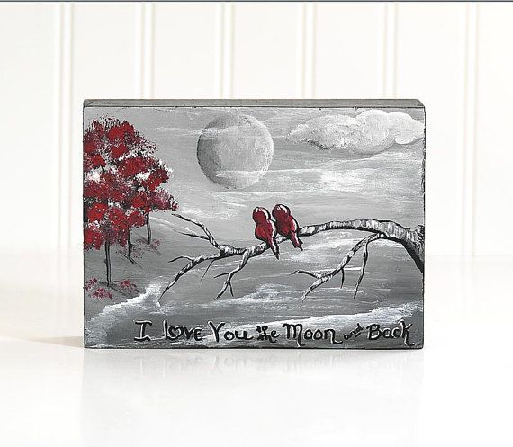 Wedding Gift Painting: Romantic Gift Wedding Gifts For Couple I Love You To The